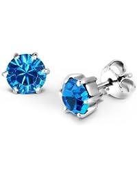 Elli Damen-Ohrstecker Basic Kristall 925 Sterling Silber 3200259