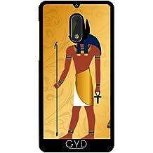 Funda para Nokia 6 - Anubis, Egipcio Antiguo by nicky2342
