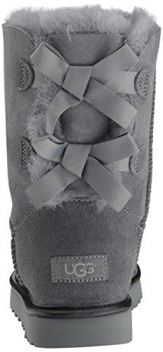 UGG Australia Bailey Bow II Metallic Damen Stiefel Grau Grau