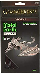 Professor PUZZLE Juego de Tronos Metal Tierra, Drogon