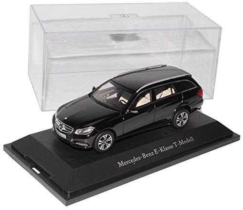 Kyosho Mercedes-Benz E-Klasse Kombi T-Modell Obsidian Schwarz W212 S212 Ab Facelift 2013 1/43 Modell Auto mit individiuellem Wunschkennzeichen