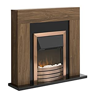 Warmlite WL45023B Fireplace Suite with LED Flame Effect