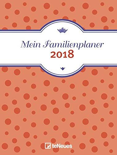 Preisvergleich Produktbild Familienplaner 2018 - Mein Familienplaner Buchkalender A5,1 Woche 2 Seiten - 16,5 x 23,1 cm