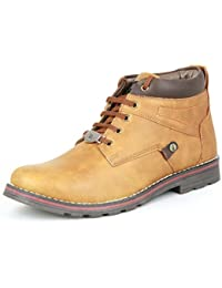 DeVEE Bactrian Camel Mens High Anklet Casual Shoe