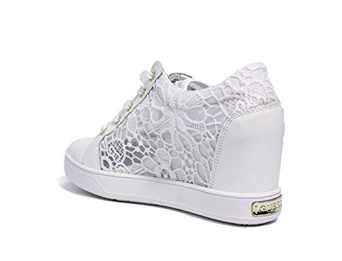 Guess Finna, Chaussures de Tennis femme white