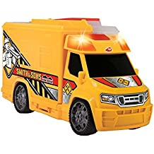 Dickie - Camión maletín con luz y sonido, color amarillo ( 3726004)