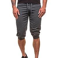 Pantalones Hombre,❤LMMVP❤Hombres Casuales Jogging Dance Ropa Deportiva Holgados Harem Pantalones Pantalón