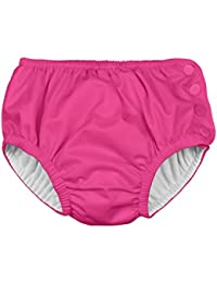 i play Snap Reusable Swimsuit Diaper, 24M, 18 to 24 Months, Hot Pink