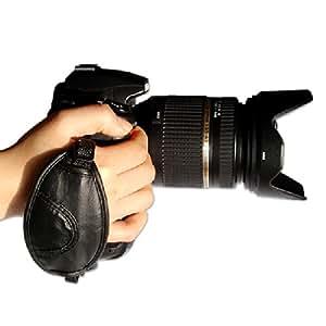 First2savvv OSH0201 strap Grip à main Appareil photo reflex numérique pour Panasonic Lumix DMC-FZ200 DMC-FZ62 DMC-FZ45 DMC-GH3 DMC-LZ30 DMC-GH2 DMC-G6 DMC-FZ72 avec UV filtre protection Sac étui