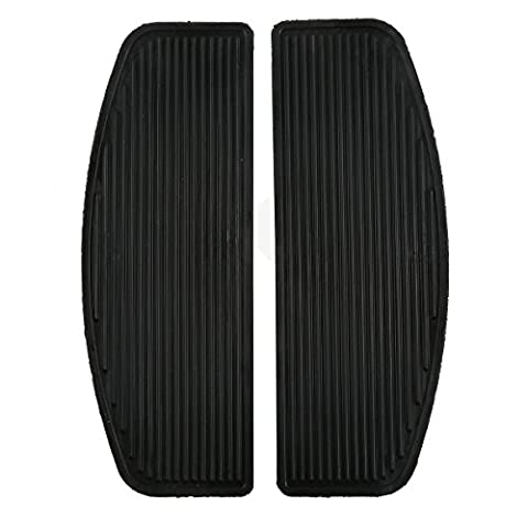 Tengchang motorcycle Front Rubber Passenger Rider Insert Floorboard Foot peg Footrest Pad For