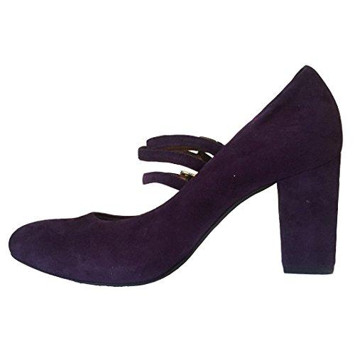 Kennel & Schmenger , Escarpins femme Purple Suede w/ Straps