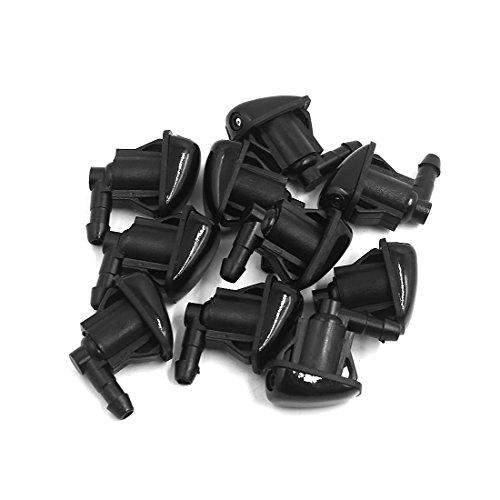 Sourcingmap-anteriore-tergicristallo-Water-spray-jet-rondella-ugello-10PCS-S
