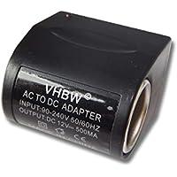 Trasformatore vhbw da 220 V alimentatore da 12 V (0.5A)