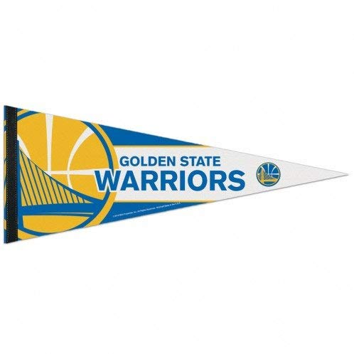 e Warriors Big Logo Premium NBA Wimpel ()
