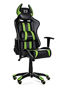 Diablo x one horn chaise gamer fauteuil gamer chaise de for Chaise gamer amazon