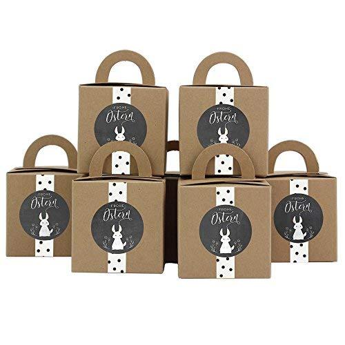 Scatole pasquali DIY con Washi Tape - Scatole regalo per la Pasqua - scatole regalo da riempire a piacere - per grandi e bambini Decorazione