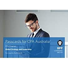 CPA Australia Global Strategy & Leadership (Passcards)