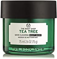 The Body Shop Tea Tree anti-Imperfection Night Mask 75ml - formulated to care for blemishes and imperfections