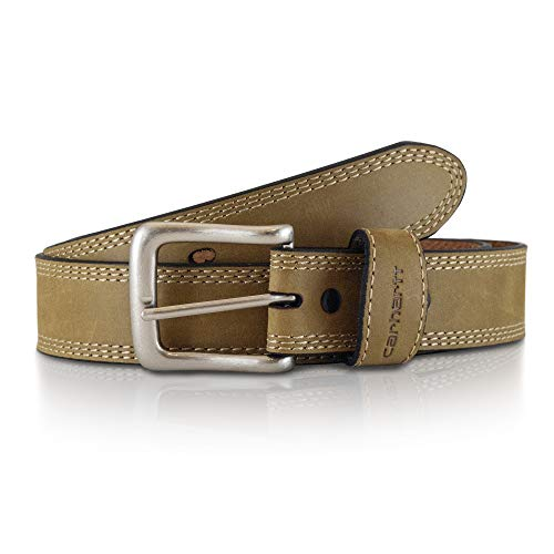 Carhartt Men's Detroit Belt, Brown, 38 Carhartt Jean Belt