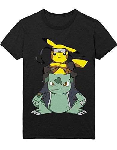 T-Shirt Poke Go Pika C210020 Schwarz M