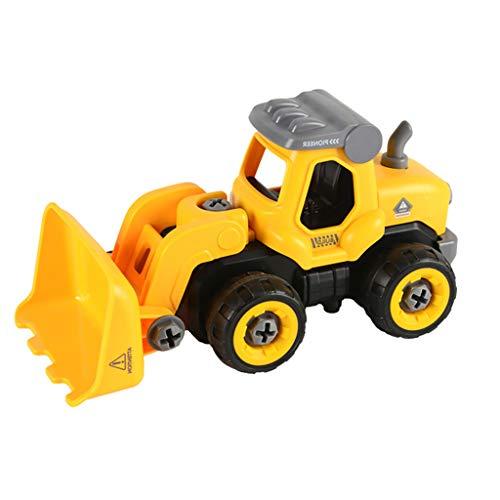 Altsommer Spielfiguren Fahrzeuge, Zerlegbares Spielzeug mit Bohrmaschine, das in Ferngesteuertes Auto Spielzeug für Jungen Umgewandelt Werden Kann