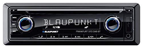 BLAUPUNKT Frankfurt 370 DAB BT Autoradio DAB+ Tuner, inkl. Fernbedienung, Anschluss für Lenkradfern