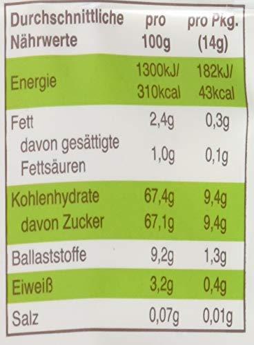 """Freche Freunde Bio Fruchtchips \""""100{8812c5cd2f8a4cd671ef7b38f15fcbabd2ad851efff9f78c15654874fb5e5061} Mango\"""", gefriergetrocknet Obst Chips Mango, ohne Zuckerzusatz, vegan, laktosefrei, glutenfrei, 12er Pack (12 x 14 g)"""