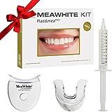 MEAWHITE® Blanqueador Dental Profesional • Kit de Blanqueamiento de dientes LED en casa • 0% PEROXIDO Teeth Whitening • Blanquea tus dientes de forma segura • 100 % Efectivo