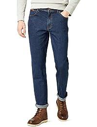 Wrangler Herren Texas  Jeans, Blau (DARKSTONE, Mild blue), 46W / 34L
