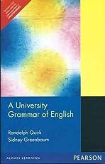 A University Grammar of English, 1e