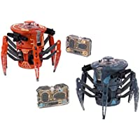 HEXBUG Battle Spider 2.0 Robot de Combate y competición, Color Naranja y Gris (Innovation First 409-5122)