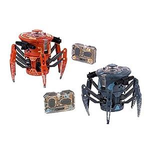 HEXBUG- Battle Spider 2.0 Robot de Combate y competición, Color Naranja y Gris (Innovation First 409-5122)