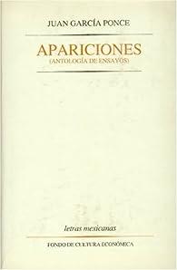 Apariciones: Antologia de Ensayos par  Juan García Ponce