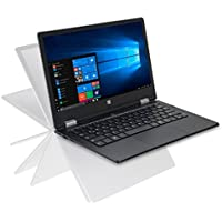 "iOTA 360 11.6"" Convertible Touch HD Laptop (Blue) - (Intel Quad Core Atom Z8350 (Burst 1.92GHz) Processor, 2 GB RAM, 32 GB eMMC Storage, QWERTY UK Keyboard, Windows 10)"