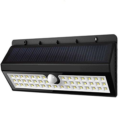 Catal - 44 con 3 modalità faretto LED Exterior Lighting, energia lampada solare del sensore di movimento del patio del
