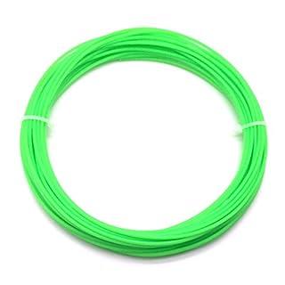 AptoFun PLA Filament in Leuchtend Grün/Luminous Green (1,75mm, 25g, 190°C - 220°C) mit Premium Qualität für 3D Drucker MakerBot RepRap MakerGear Ultimaker UVM/auch für 3D-Stifte