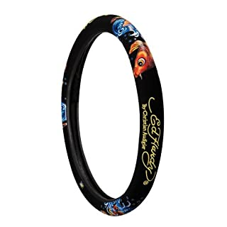 Ed Hardy KOI Steering Wheel Cover by Auto Expressions