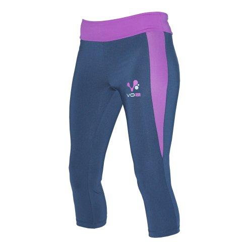 VO2Pantalon de survêtement, 3/4pieds de Mehrfarbig - blau / violett