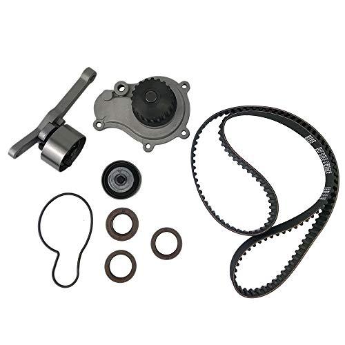 SODIAL Auto Teil Zahn Riemen Wasser Pumpe Kit Ersatz für Plymouth 95-02 für 2.4L Dohc Edz 251791579225 (Auto-teile-wasser-pumpe)