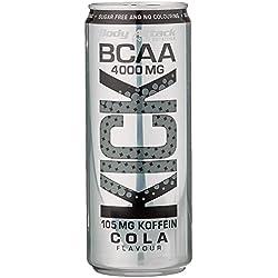 Body Attack BCAA KICK, Cola, 1er Pack (12x 330ml + Pfand (12x 0,25€))