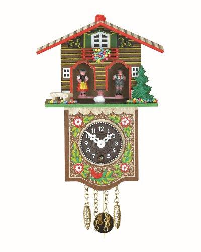Trenkle Orologio dalla Foresta Nera in Miniatura casa Tipo Foresta Nera casetta Stazione Meteo TU 809 P