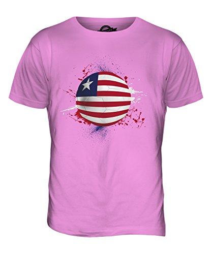 CandyMix Liberia Fußball Herren T Shirt Rosa