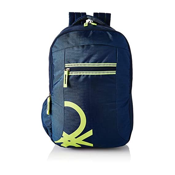 United Colors of Benetton 22 Ltrs Blue Casual Backpack (0IP6COLBPNL4I)
