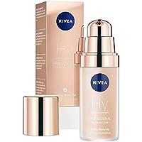 NIVEA PROFESSIONAL Ácido hialurónico, base de maquillaje profesional, 10C, pieles claras, maquillaje antiedad.