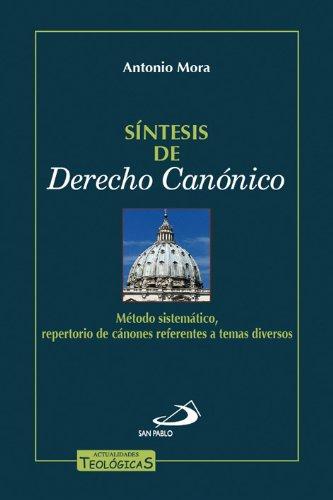 Síntesis del derecho canónico