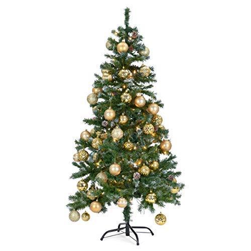 The Christmas Workshop Grande Albero di Natale Artificiale Neve Coni Realistico Alberi di Natale 1,5m 1,8m 2,1m