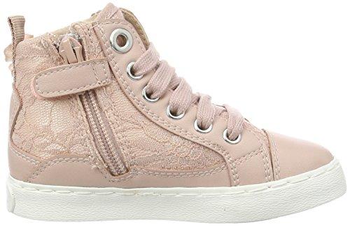 Geox Mädchen Jr Ciak Girl B High-Top Pink (Dk Rosec8007)