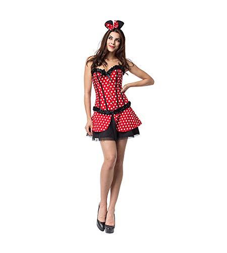 Memory meteor Minimaus Kostüme Damen, Missy Maus Fancy Dress Kostüm ()