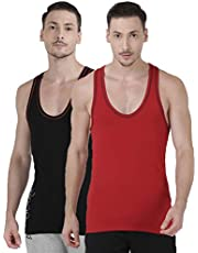 one8 by Virat Kohli Men's Vest (Pack of 2)