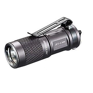 DOGZI Led Taschenlampe Verstellbar, Baumarkt Eisenwaren - Neue Tragbare JETbeam JET-II MK Cree XP-L HI 510 Lumen Wasserdichte LED-Taschenlampe